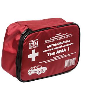 Автомобільна аптечка першої допомоги Тип АМА-1